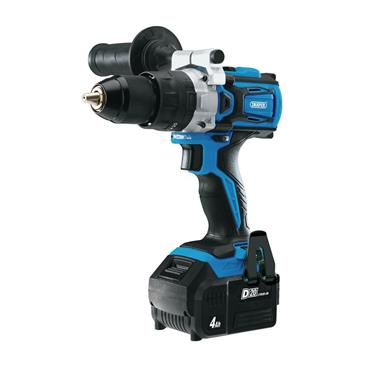 Draper 20v Brushless Combi Drill Kit with 1 x 4.0ah Battery and Fast Charger | 79894