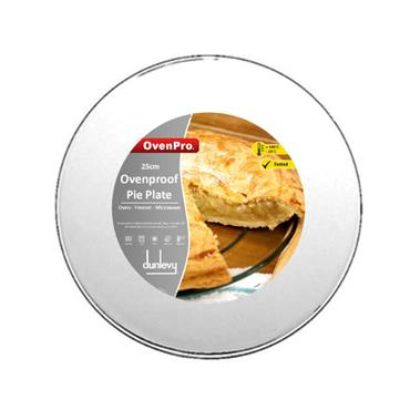 OvenPro 25cm Ovenproof Glass Pie Plate | PX2000