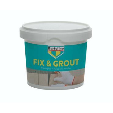 Bartoline 1kg Ready Mixed Waterproof Fix & Grout | 0106-22