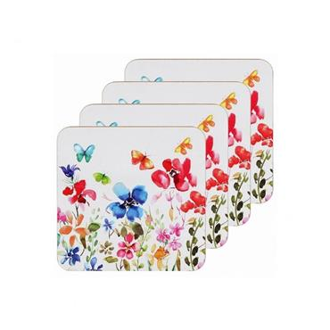 Butterfly Meadow Coasters set of 4 | PG4344