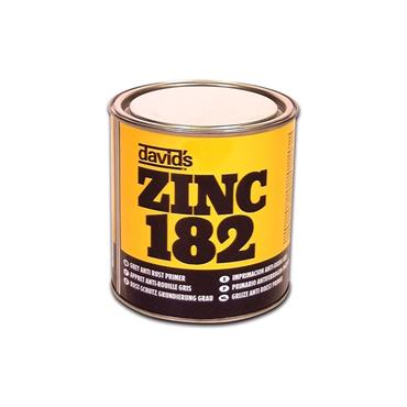 Davids Zinc 182 250ml Rust Primer - Grey | 0271-34