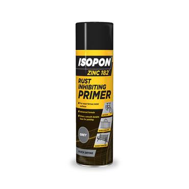 Davids Zinc 182 450ml Spray Rust Primer - Grey | 0271-30