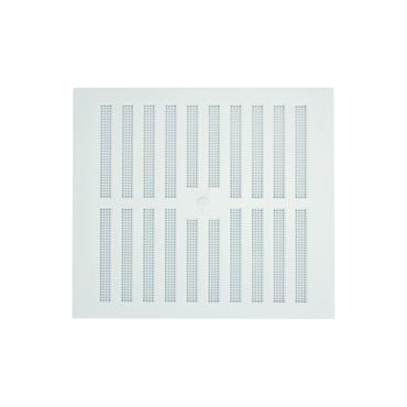 """Louvre Wall Vent 9"""" x 9"""" - White 
