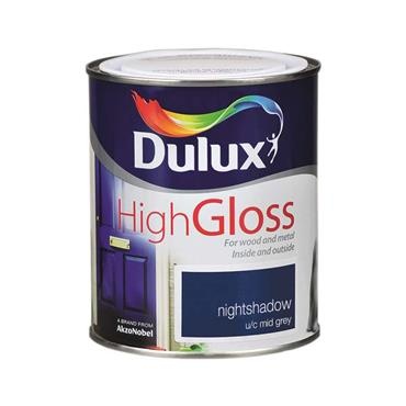 Dulux 750ml High Gloss - Night Shadow | 5083955