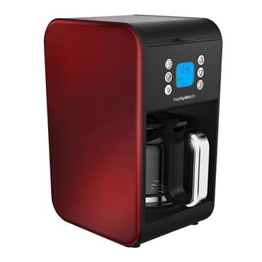 Morphy Richards Accents Pour Over Filter Coffee Maker Red | 162009