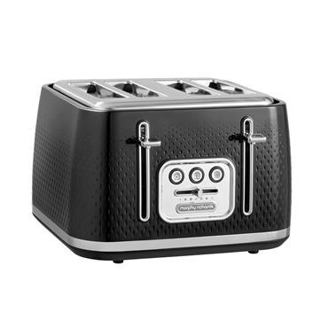 Morphy Richards Verve 4 Slice Toaster - Black | 243010