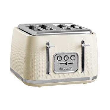 Morphy Richards Verve 4 Slice Toaster - Cream | 243011
