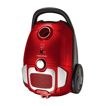 Morphy Richards Bagged Vacuum Cleaner - Red | 980565
