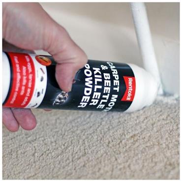 Rentokill Carpet Moth & Beetle Killer Powder 150g