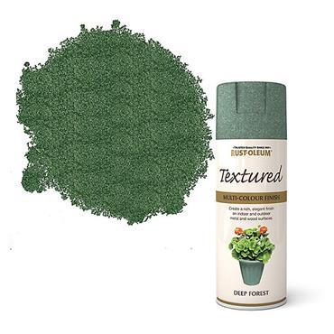 Rustoleum Textured Spray Paint 400ml - Deep Forest | PTOU038