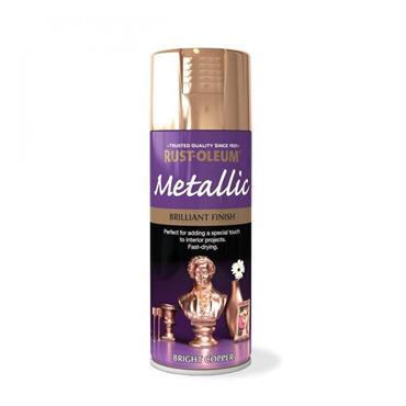 Rustoleum Copper Effect Metallic Spray Paint 400ml | PTOU029