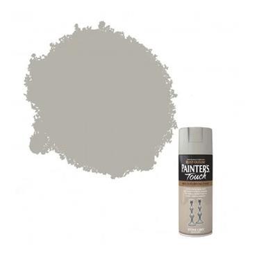 Rustoleum Painters Touch Multi-Purpose Spray Paint 400Ml - Stone Grey | PTOU214