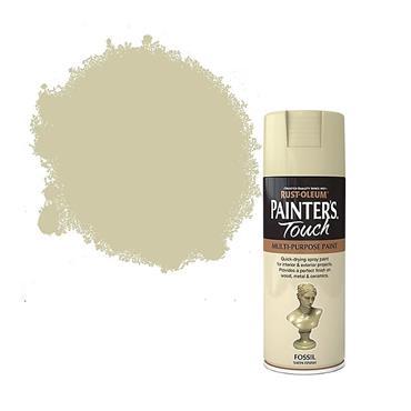 Rustoleum Painters Touch Multi-Purpose Spray Paint 400ml - Satin Fossil | PTOU219