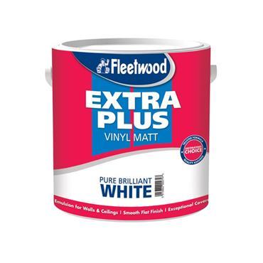 Fleetwood 2.5 Litre Extra Plus Viny Matt - Brillant White   MEP25BW