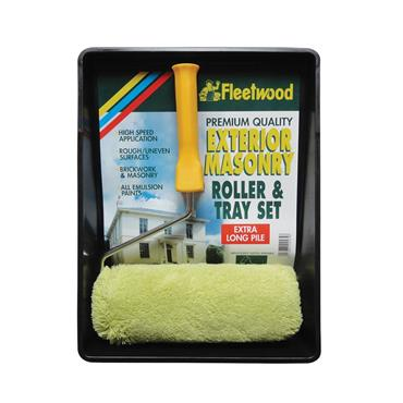 "Fleetwood 9"" Premium Masonry Roller & Tray Set | RTS9PE"
