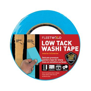 "Fleetwood 2"" Low Tack Washi Tape 