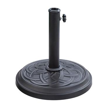 Heavy Duty 12kg Parasol Base - Black | UB121