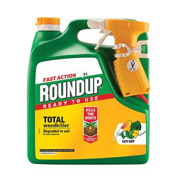 Roundup Fast Action Ready To Use Weedkiller 3 Litre