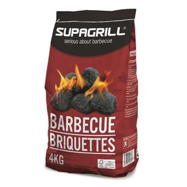 Supagrill Charcoal BBQ Briquettes 4kg