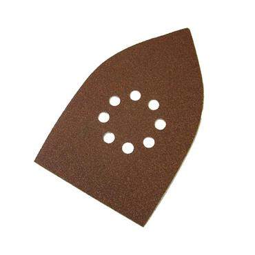 Faithfull Multi-Sander Sheets Hook & Loop Coarse Grit (Pack 5) | FAIAOMULTIC