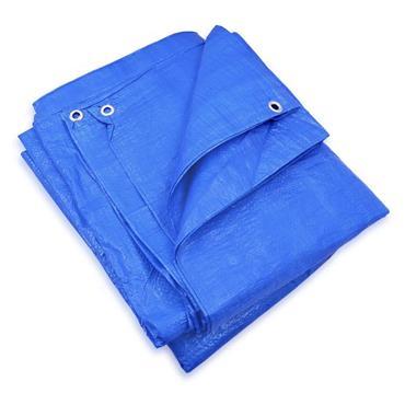 Blue Tarpaulin 6.1 Metre x 4.57 Metre (20ft x 15ft)   12840