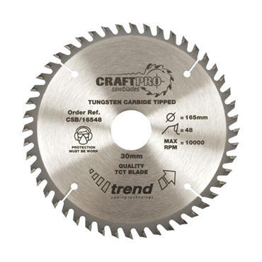 Trend Craft Pro Saw Blade 230 x 30mm x 40T | CSB/23040