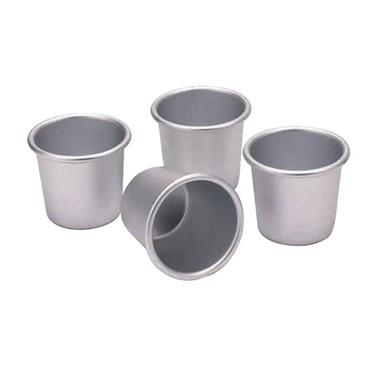 KitchenCraft Set of Four Anodised 6.5cm Dariole Moulds | KCDARIOL