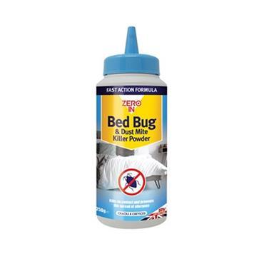 Zero In Bed Bug and Dust Mite Killer Powder 250g   ZER982