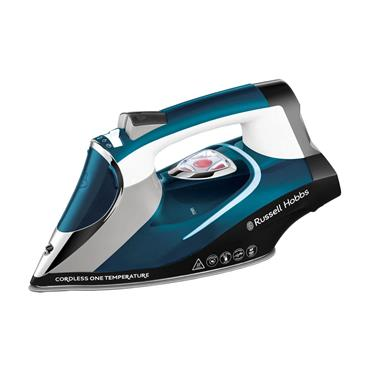 Russell Hobbs Cordless One Temperature Steeam Iron - Blue | 26020