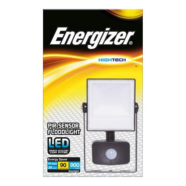 Energizer 10 Watt LED Floodlight with PIR Sensor | 1812-02
