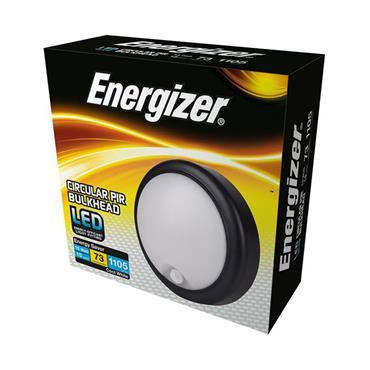 Energizer 15W LED Round Bulkhead with PIR Sensor | 1824-22