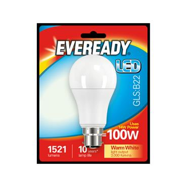 Eveready 14W (100W) B22 GLS LED Bulb | 1825-32