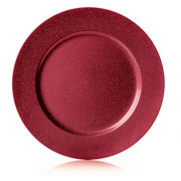 Premier 33cm Red Glitter Charger Plate | AC155415R
