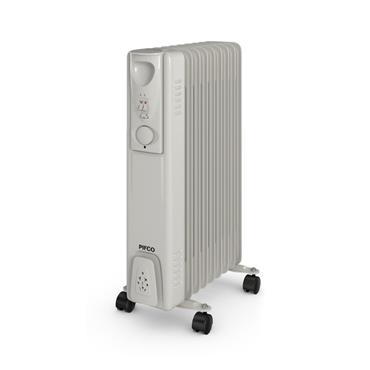 Pifco 2kw Oil Filled Radiator with Thermostat | 1311-28