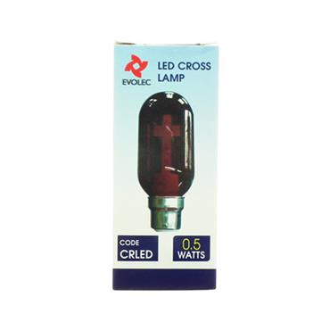 LED Cross Lamp Sacred Heart Bulb | 1205-27