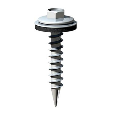 6.3 X 32 HEX SLASH TIMBER SCREW W16 B