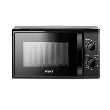 Tower 700w 20 Litre Microwave - Black | T24034BLK
