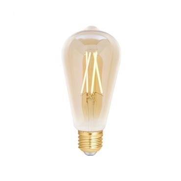 Wiz ST64 Amber White WiFi LED Smart Bulb - E27 | 4L1/8014