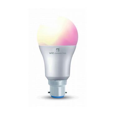Wiz A60 Multicolour WiFi LED Smart Bulb - B22 | 4L1/8002