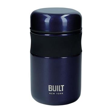 Built 490ml Midnight Blue Food Flask | BLTJAR490BLU
