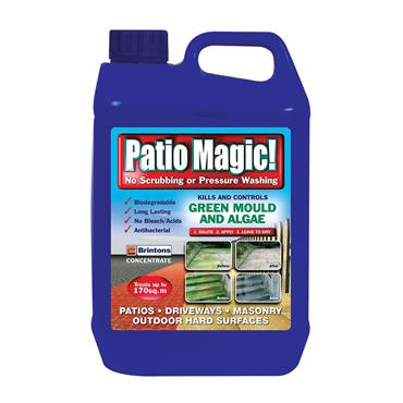 Patio Magic Concentrate Patio & driveway cleaner 5 LITRE