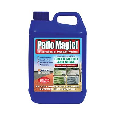 Patio Magic Concentrate Patio & driveway cleaner 2.5 LITRE