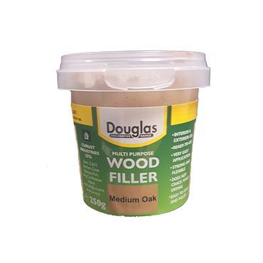 Douglas 250g Multipurpose Wood Filler - Medium Oak | DPWF0250G