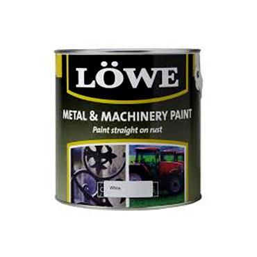 Lowe 1 Litre Rust and Metal Paint - White | LRW0150