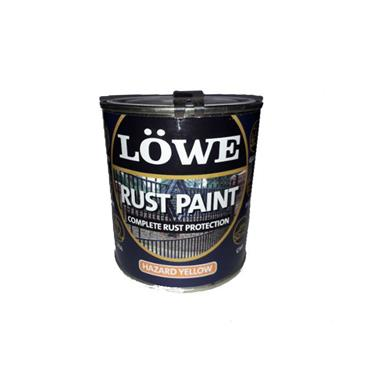 Lowe 1 Litre Rust and Metal Paint - Hazard Yellow | LRY0150