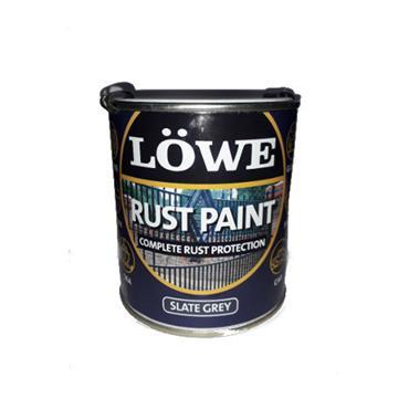 Lowe 2.5 Litre Rust and Metal Paint - Slate Grey | LRS0300