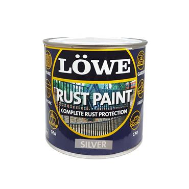 Lowe 500ml Rust and Metal Paint - Silver | LRSV0750