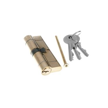Tessi Snap Safe Door Cyclinder 30 / 30 - Brass | TKD1