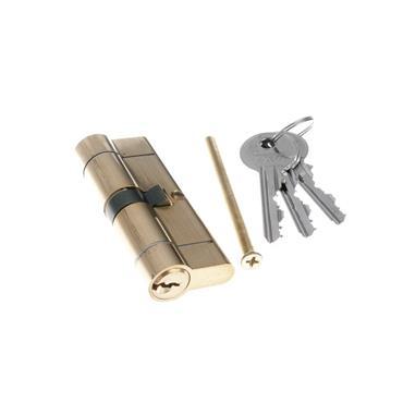 Tessi Snap Safe Door Cyclinder 40 / 40 - Brass | TKD5