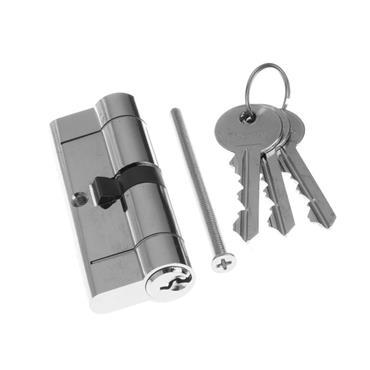 Tessi Snap Safe Door Cyclinder 40 / 40 - Chrome | TKD5A